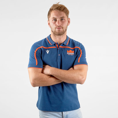Macron Edinburgh 2019/20 Travel Polo Shirt