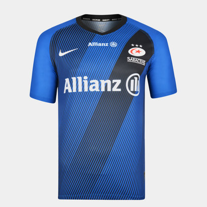 Nike Saracens 2019/20 3rd S/S Replica Rugby Shirt
