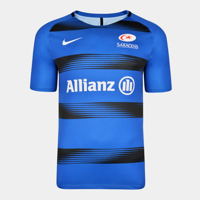 Nike Saracens 2019/20 Players Squad Training Shirt