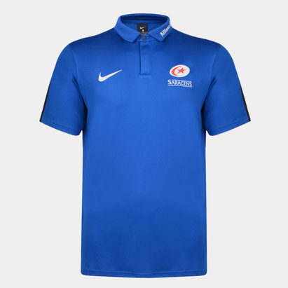 Nike Saracens 2019/20 Players Flash Polo Shirt