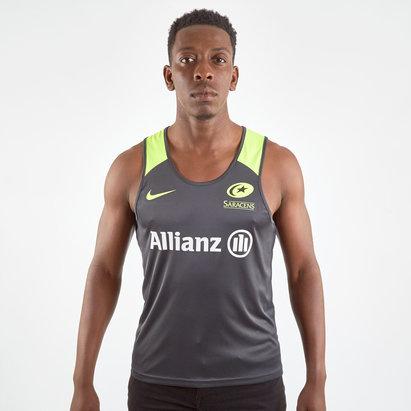 Nike Saracens 19/20 Mens Training Singlet