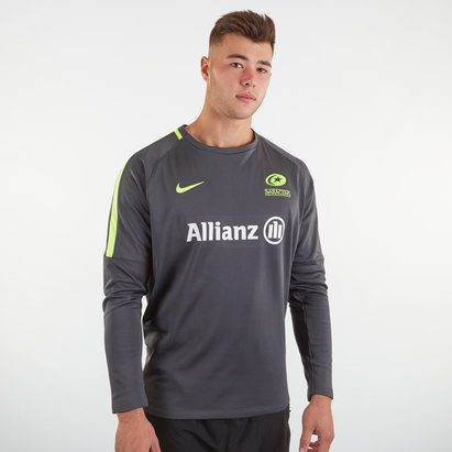 Nike Saracens 19/20 Mens Training Sweatshirt