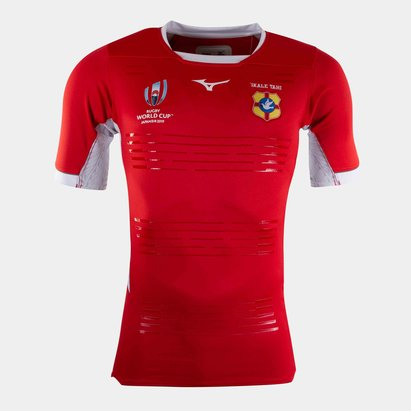 Mizuno Tonga RWC 2019 Kids Home Pro S/S Shirt