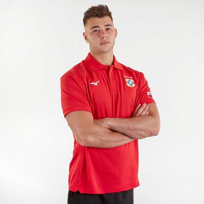Mizuno Tonga 2019/20 Players Leisure Rugby Polo Shirt