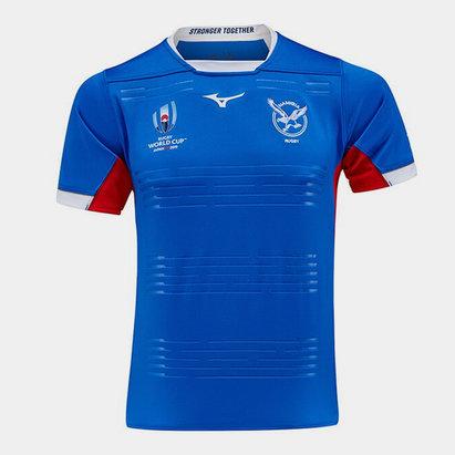 Mizuno Namibia RWC 2019 Kids Home Pro S/S Shirt
