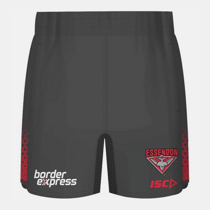 ISC Essendon Bombers 2019 AFL Players Training Shorts