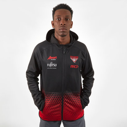 ISC Essendon Bombers 2019 AFL Players Hooded Sweat