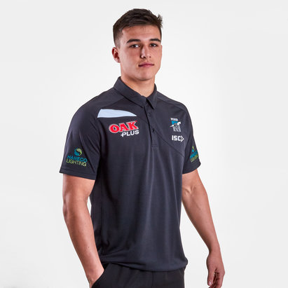ISC Port Adelaide Power 2019 AFL Players Polo Shirt