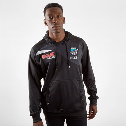 ISC Port Adelaide Power 2019 AFL Players Hooded Sweat