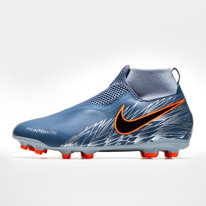 Nike Phantom Vision Academy Kids D-Fit MG/FG Football Boots