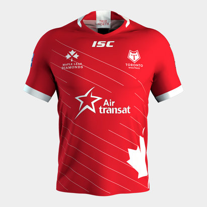 ISC Toronto Wolfpack 2019 Canada Day 3rd S/S Rugby League Shirt