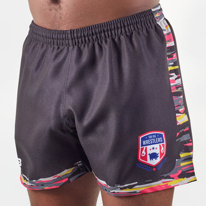 VX3 The Pig Wrestlers 2020 Home Rugby Shorts