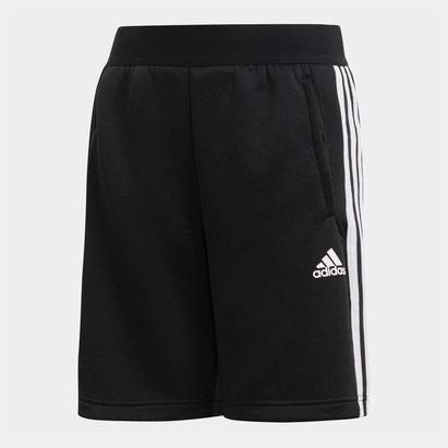 adidas Kids 3 Stripes Training Shorts