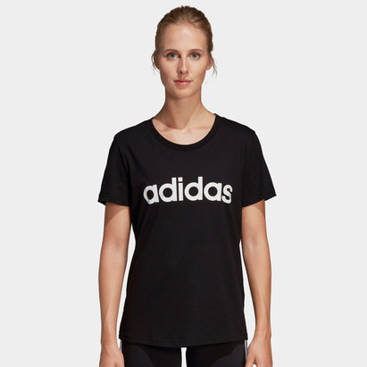 adidas Ladies Branded Slim T-Shirt