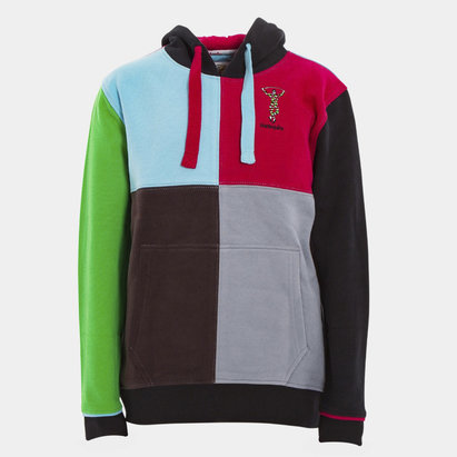 Harlequins 2018/19 Kids Quartered Hooded Rugby Sweat