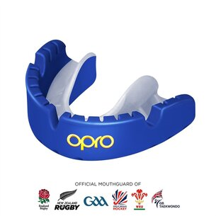 Opro Self Fit Gold Level Mouth Guard For Braces