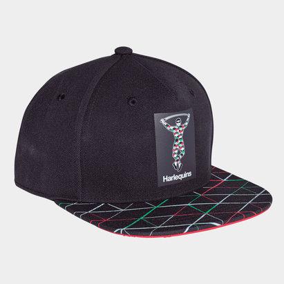 adidas Harlequins 2018/19 Flat Brim Rugby Cap