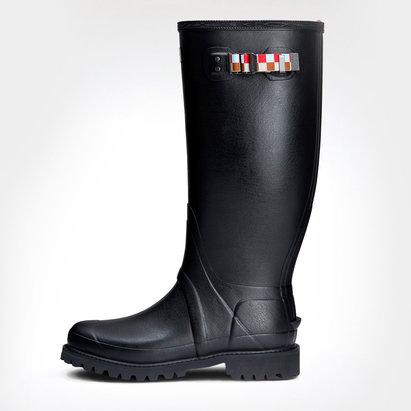 Harlequins Hunter Balmoral Wide Fit Wellington Boots