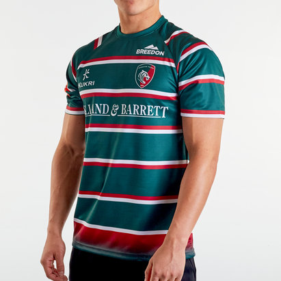 Kukri Leicester Tigers 2019/20 Home S/S Replica Shirt
