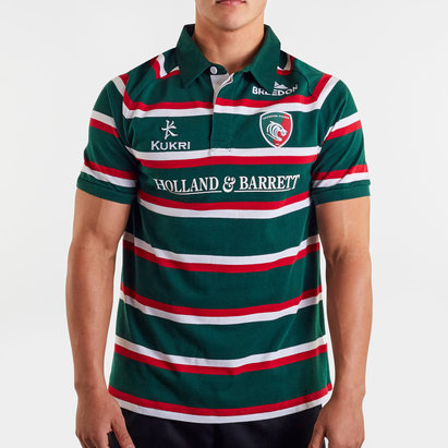 Kukri Leicester Tigers 2019/20 Home S/S Classic Shirt