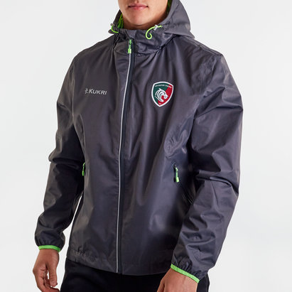 Kukri Leicester Tigers 2019/20 Full Zip Rain Jacket
