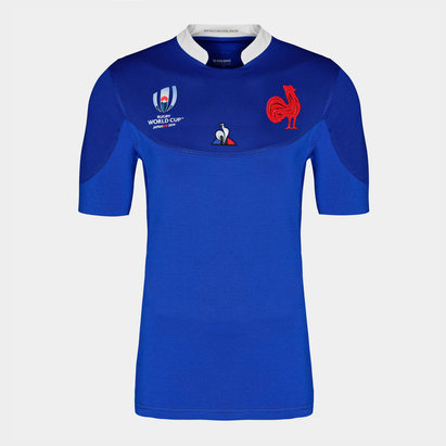 Le Coq Sportif France RWC 2019 Home S/S Rugby Shirt