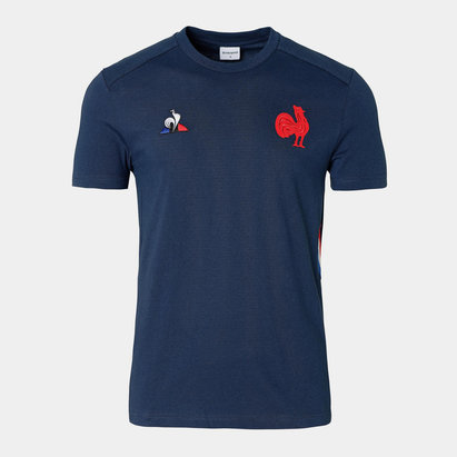 Le Coq Sportif France 2019/20 Presentation Rugby T-Shirt