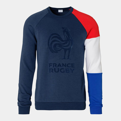 Le Coq Sportif France 2019/20 Supporters Crew Rugby Sweatshirt