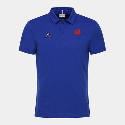 Le Coq Sportif France 2019/20 Supporters Rugby Polo Shirt