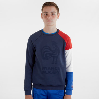 Le Coq Sportif France 2019/20 Kids Crew Rugby Sweatshirt