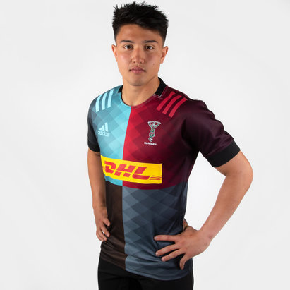 adidas Harlequins 2019/21 Home S/S Replica Shirt