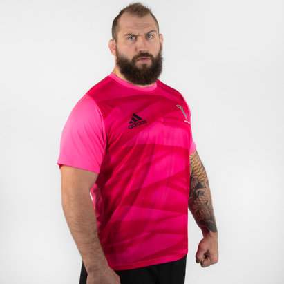 adidas Harlequins 2019/20 Players S/S Rugby Training Shirt
