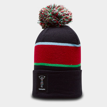adidas Harlequins 2019/20 Rugby Bobble Hat