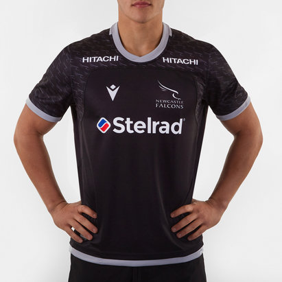 Macron Newcastle Falcons 2019/20 Home S/S Replica Rugby Shirt