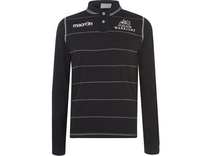 Macron Glasgow Warriors L/S Cotton Rugby Shirt