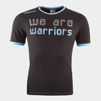 Macron Glasgow Warriors 2018/19 Off Field T-Shirts