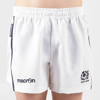 Macron Scotland Rugby Shorts Childrens