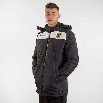 Macron Northampton Saints 2018/19 Players Helsinki Rugby Jacket
