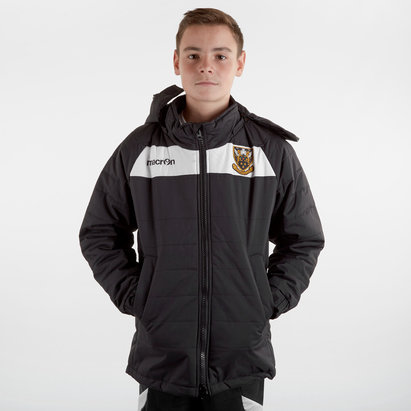 Macron Northampton Saints 2018/19 Kids Helsinki Rugby Jacket