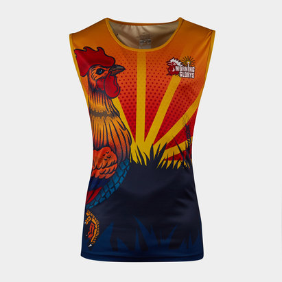 World Beach Rugby Morning Glorys 2020 Home Training Singlet