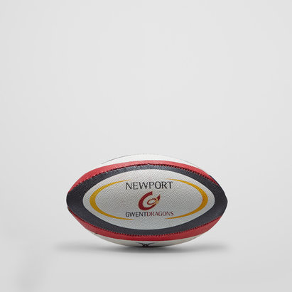 Gilbert Newport Gwent Dragons Official Mini Rugby Ball