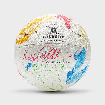 Gilbert Signature Kalifa McCollin Netball