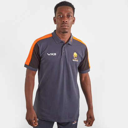 VX3 Worcester Warriors 2019/20 Rugby Polo Shirt