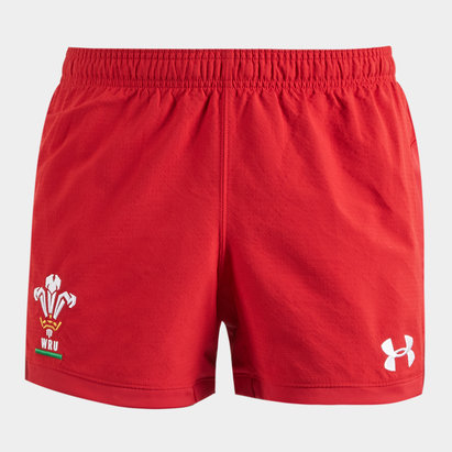 Under Armour Wales WRU 2018/19 Players Match Shorts