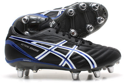 Lethal Charge SG Rugby Boots Black / White / Blue
