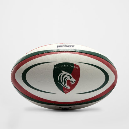 Gilbert Leicester Tigers Official Replica Rugby Ball