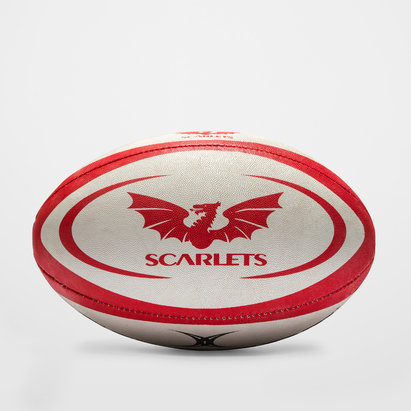 Gilbert Scarlets Official Replica Rugby Ball