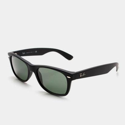 Ray-Ban 2132 Wayfarer Black Gummy Sunglasses