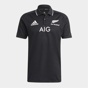 adidas New Zealand All Blacks Mens Home Polo 2021/22