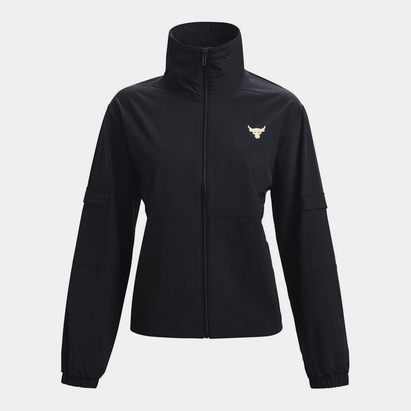 Under Armour Project Rock Woven Jacket Ladies